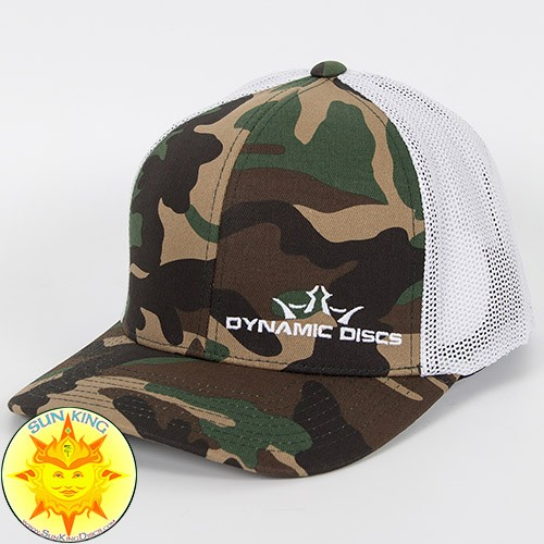 260e65d7a09 Dynamic Discs Camo Fitted Trucker Mesh Hat