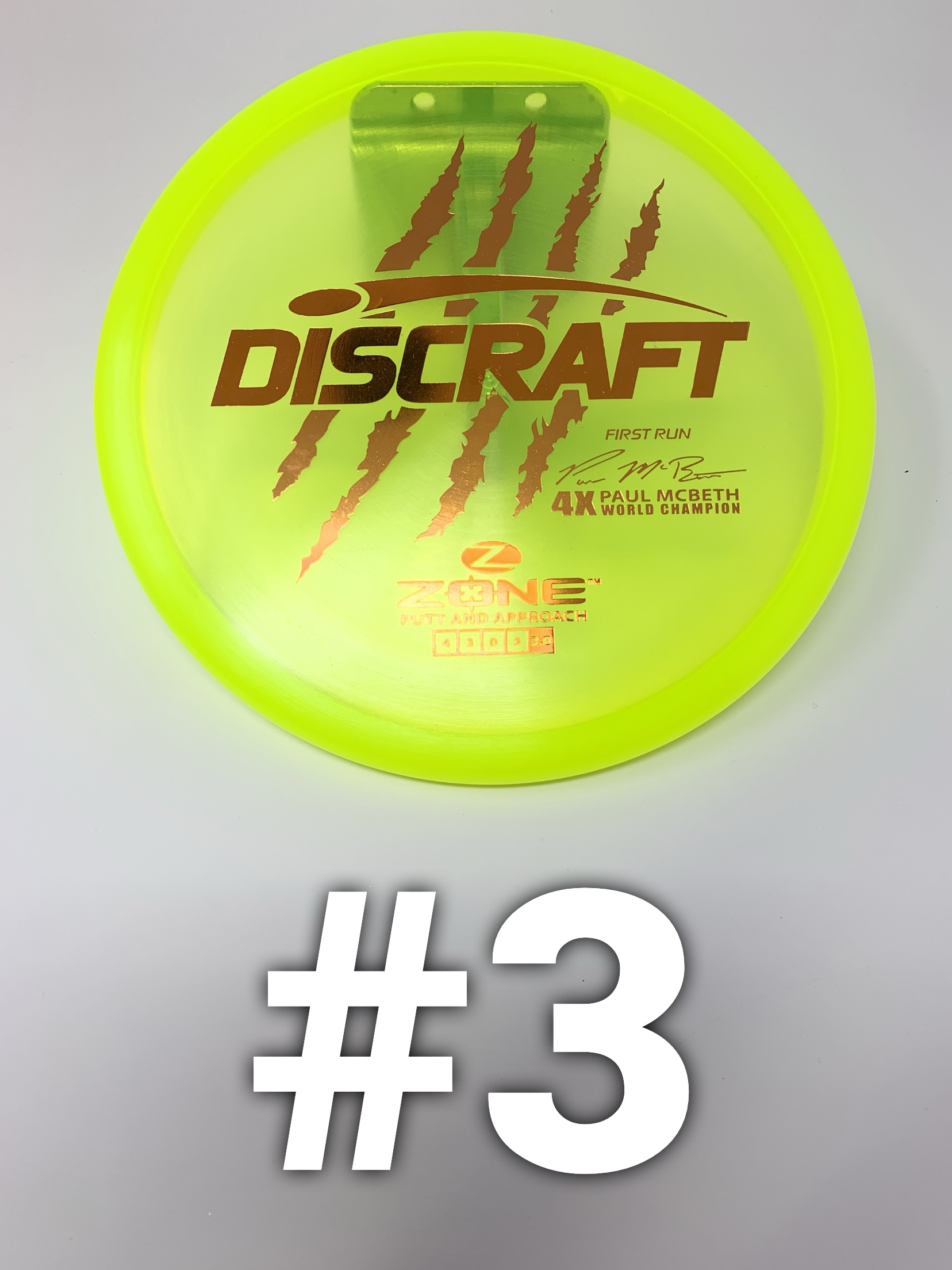 Discraft Elite Z Zone (Paul McBeth - First Run)