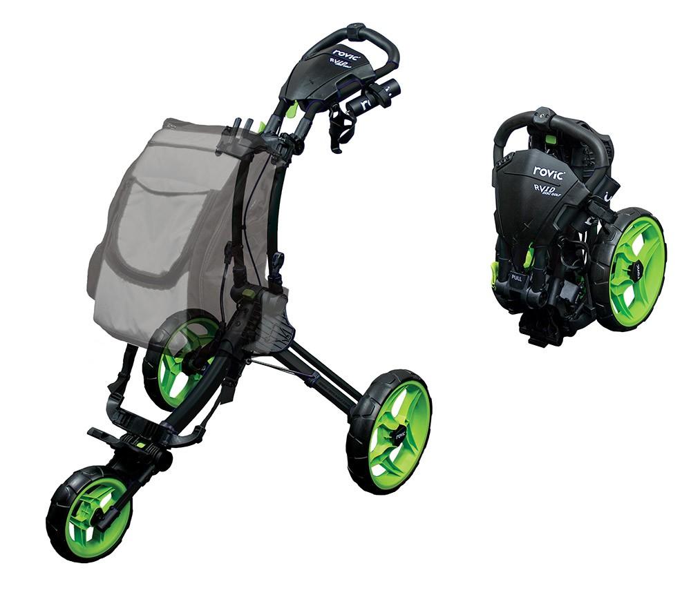 Rovic RV1D Disc Golf Cart (Free Shipping) on regular golf cart, shelby gt golf cart, extra long golf cart, 1000cc golf cart, prerunner golf cart,