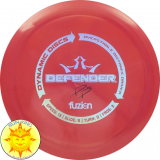 Dynamic Discs Bio Fuzion Defender (Paige Pierce - Double Stamped)