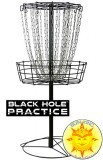 MVP Black Hole Practice Disc Golf Basket