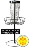 MVP Black Hole Precision Disc Golf Basket