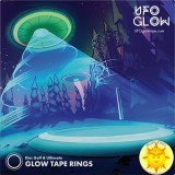 UFO Glow Tape Ring Set