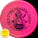 Innova Champion Color Glow Rhyno (2017 Rich Stine Memorial)