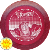 Innova Metal Flake Champion TeeDevil (Disc Golf World Championships 2012)