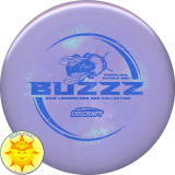 Discraft ESP Swirl Buzzz (Les White - Bee Collection - 2018 Ledgestone)