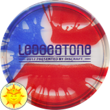 Discraft Elite Z Buzzz Mini (Flag Dyed - 2017 Ledgestone)