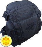 Fossa Tana Pro Back Pack Bag (Black/Black)