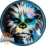 Discraft Full Foil SuperColor Buzzz (Star Wars - Chewbacca)