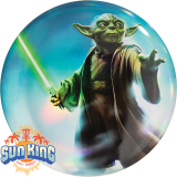 Discraft Full Foil SuperColor Buzzz (Star Wars - Yoda)