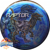 Discraft Full Foil SuperColor Raptor (2020 Ledgestone)