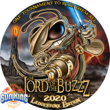 Discraft Full Foil SuperColor Buzzz (The Lord Of The Buzzz)