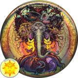 Discraft Full Foil SuperColor Buzzz (Tree Of Life)