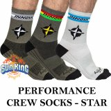 Innova Performance Crew Socks (Star)