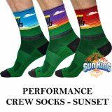Innova Performance Crew Socks (Sunset)