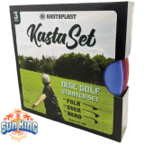 Kastaplast 3-Disc Starter Set + Sun King Mini & Sticker