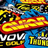 Innova Iron On Patches (Assorted Designs)