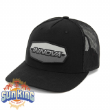 Innova Striped Bar Snapback Mesh Cap