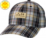 Innova Plaid Trees Patch Adjustable Cap