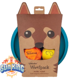 Waboba Woofpack (3 Piece Dog Toy Set)
