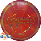 Discraft Elite Z Heat (Tour Series Swirl - 2021 Ledgestone)