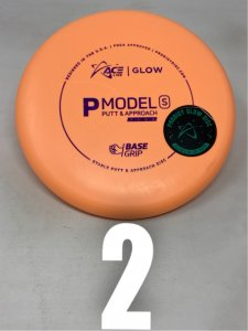 Prodigy Ace Line Base Grip Glow P Model S (Cale Leiviska Bottom Stamp)