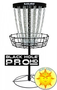 MVP Black Hole Pro HD V2 Disc Golf Basket