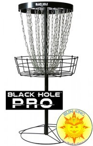 MVP Black Hole Pro Disc Golf Basket