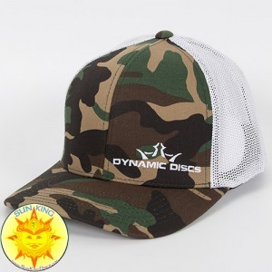 Dynamic Discs Camo Fitted Trucker Mesh Hat