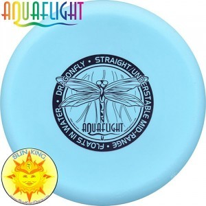 AquaFlight Deluxe Disc Golf Starter Set (5 Discs + Bag - Floats in Water!)