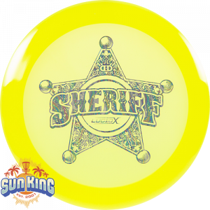 Dynamic Discs Lucid-X Sheriff (Badge Stamp)