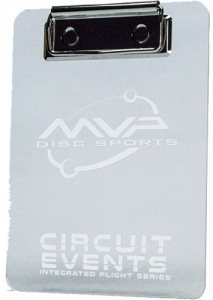 MVP Acrylic Clipboard (Circuit Events)