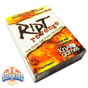 Ript Revenge Disc Golf Card Game